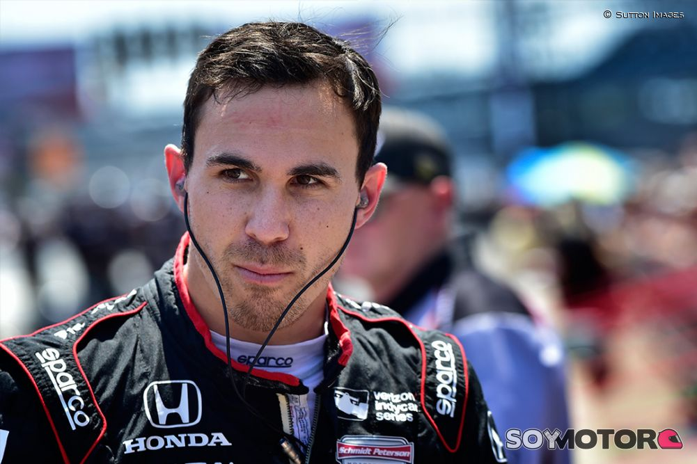 Espectacular accidente de Robert Wickens — Millas de Pocono