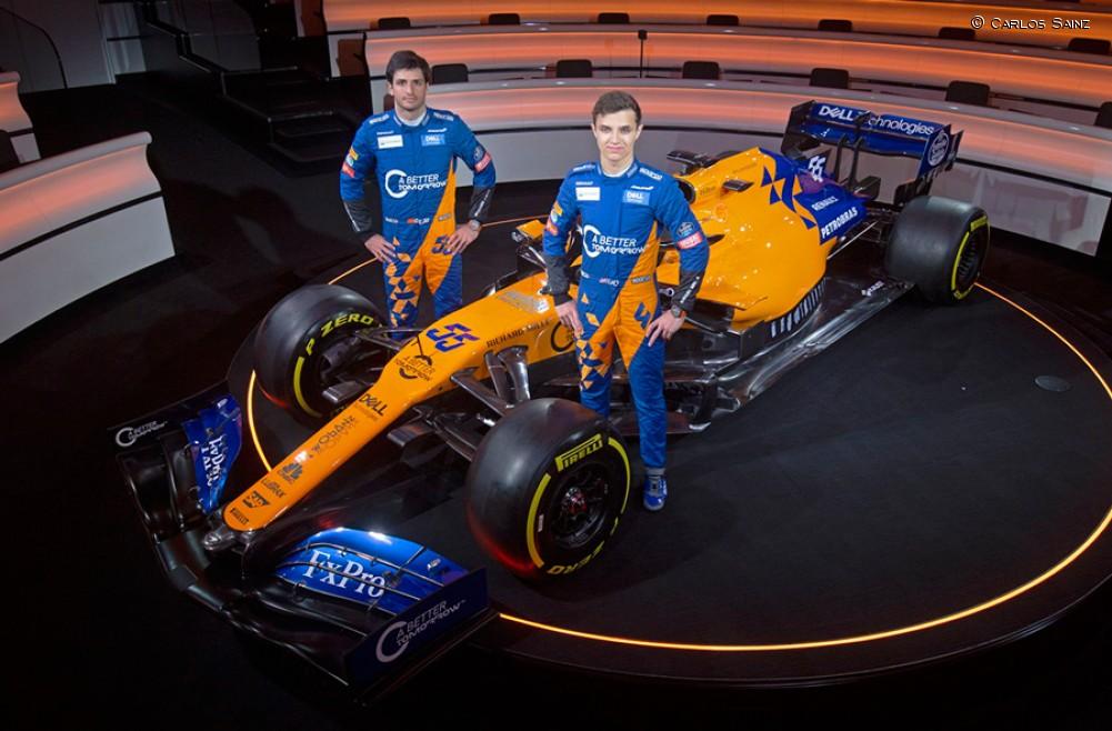 McLaren Racing presenta el MCL34