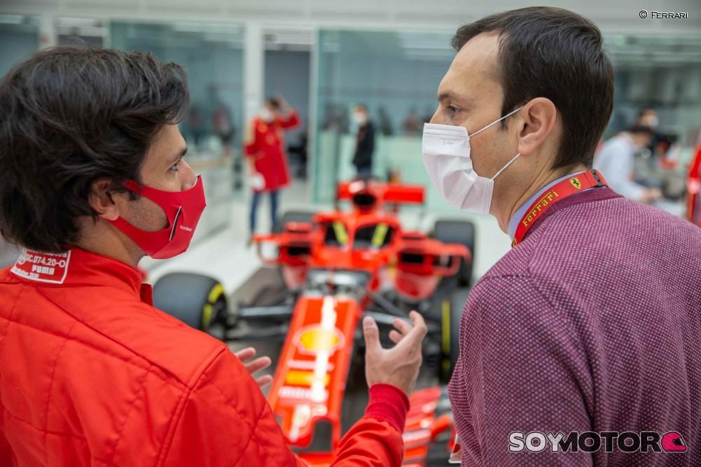 Las claves del debut de Sainz con Ferrari ¿para qué sirven los tests privados