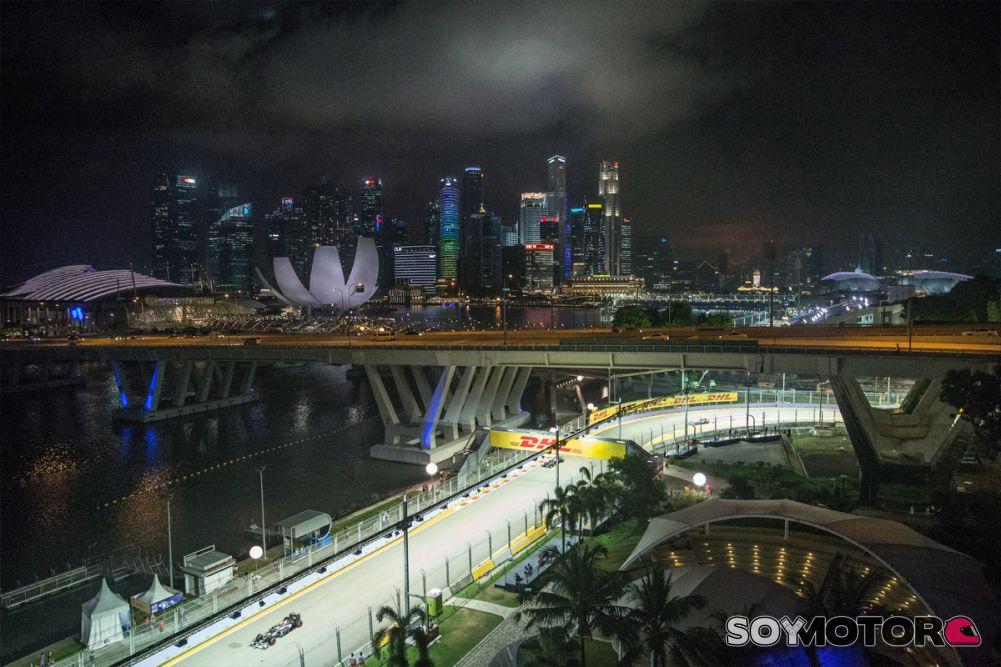 Circuito F1 Singapur : Sauber en el gp de singapur f sábado soymotor