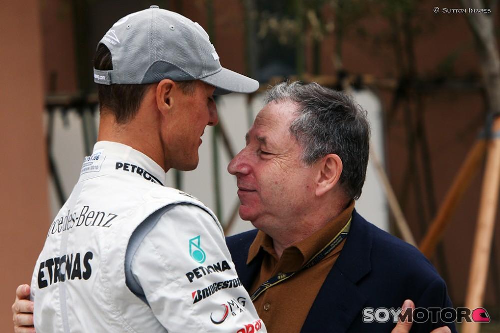 Todt dice que la condición de Schumacher es