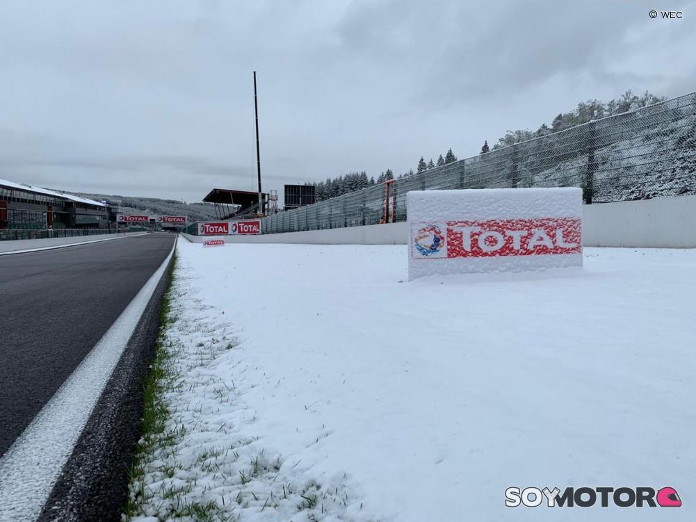Circuito De Spa Francorchamps : La nieve hace acto de presencia en spa francorchamps soymotor.com