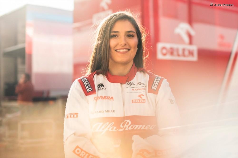 Tatiana Calderón continuará como piloto de pruebas de Alfa Romeo Racing