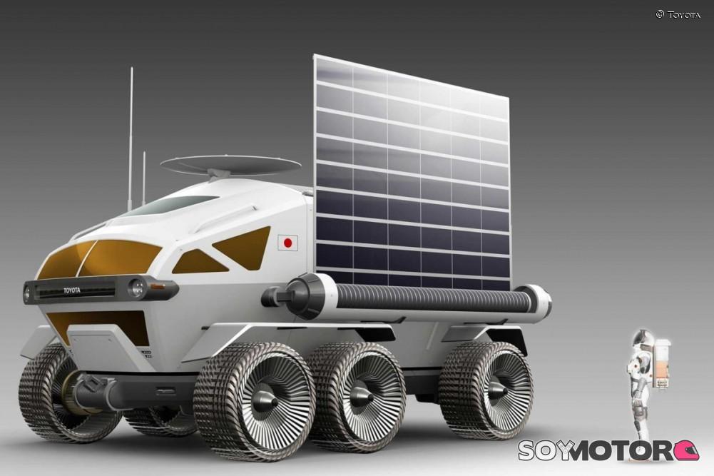 Toyota fabricará vehículo lunar para Japón