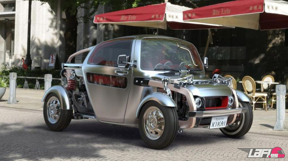 Calendario De Mecanica Hot.Toyota Kikai Concept Buggy Y Hot Rod A Partes Iguales