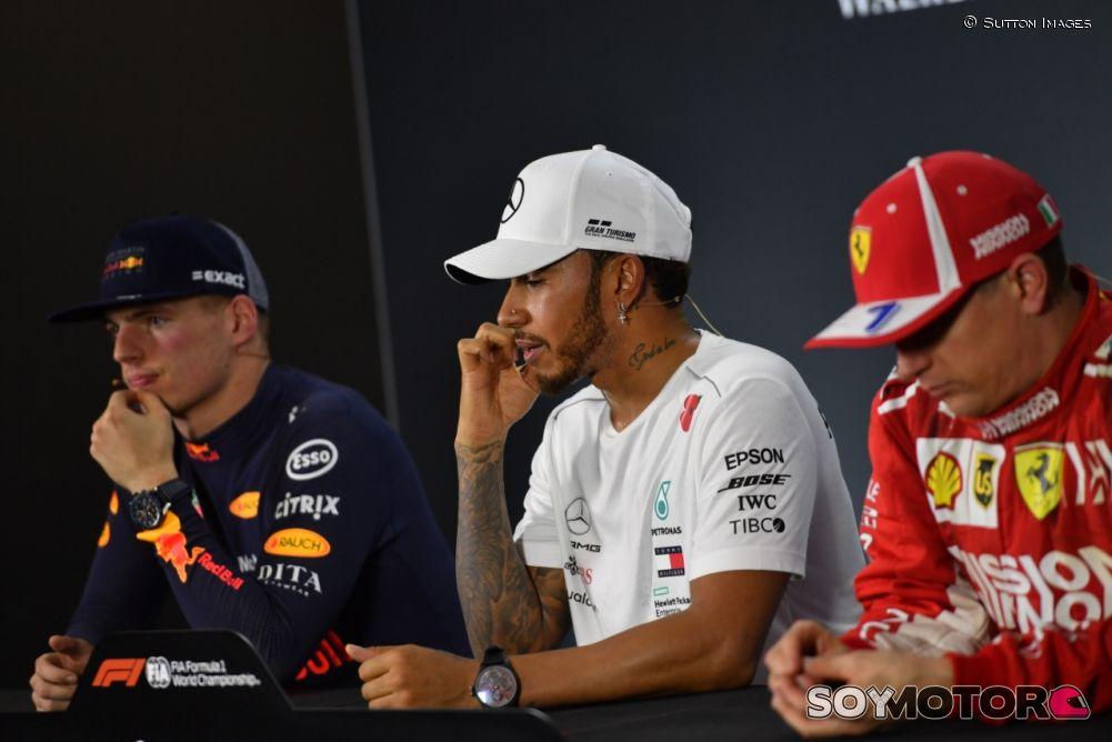 Verstappen se encara con Ocon tras choque en el GP de Brasil