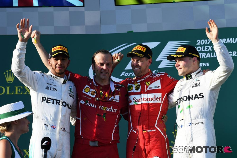 Vettel empieza 2017 con victoria en Australia, Sainz 8º y Alonso KO Vettel-ferrari-australia-cronica-f1-soymotor