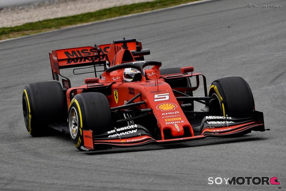 Fuerte golpe de Vettel - 27/02/2019 - Olé