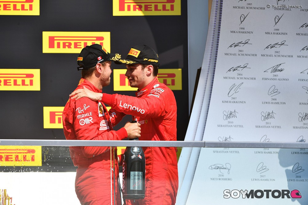 Ferrari confirmó la dupla de pilotos para el 2020
