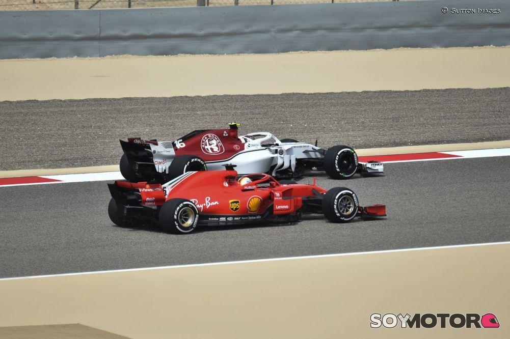 Vettel, tras comunicar que había
