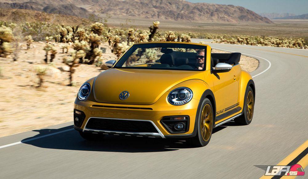 El Volkswagen Beetle Dune Aúna Dos Estéticas Muy Difees