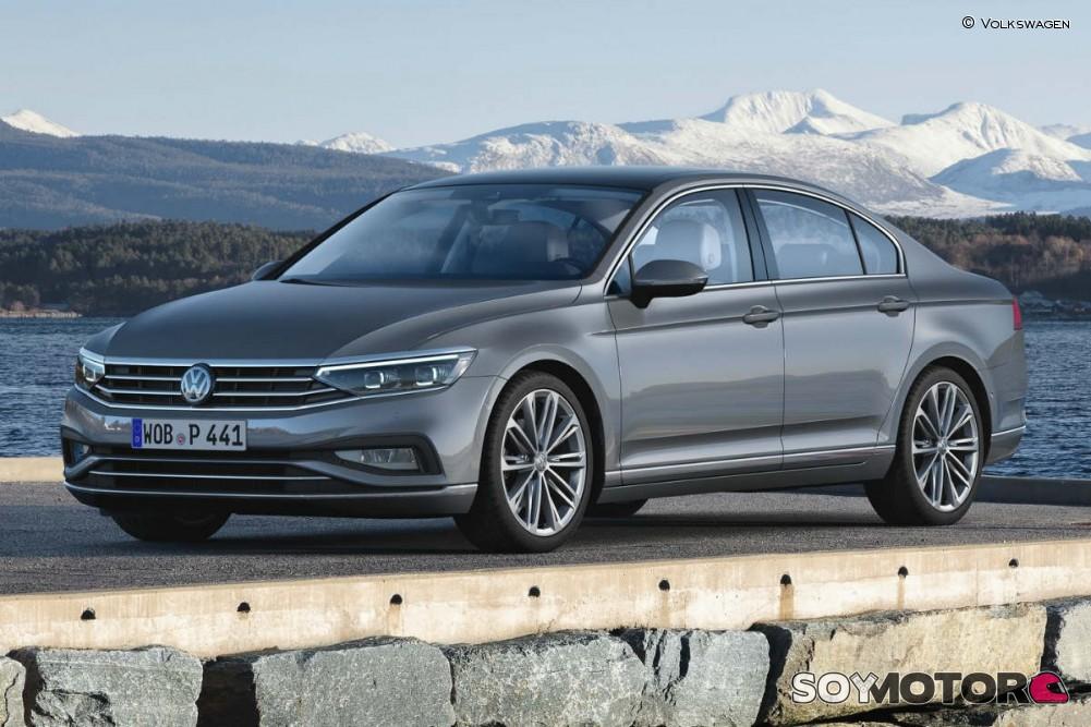 Nuevo Volkswagen Passat: estrena imagen y conducción semiautónoma