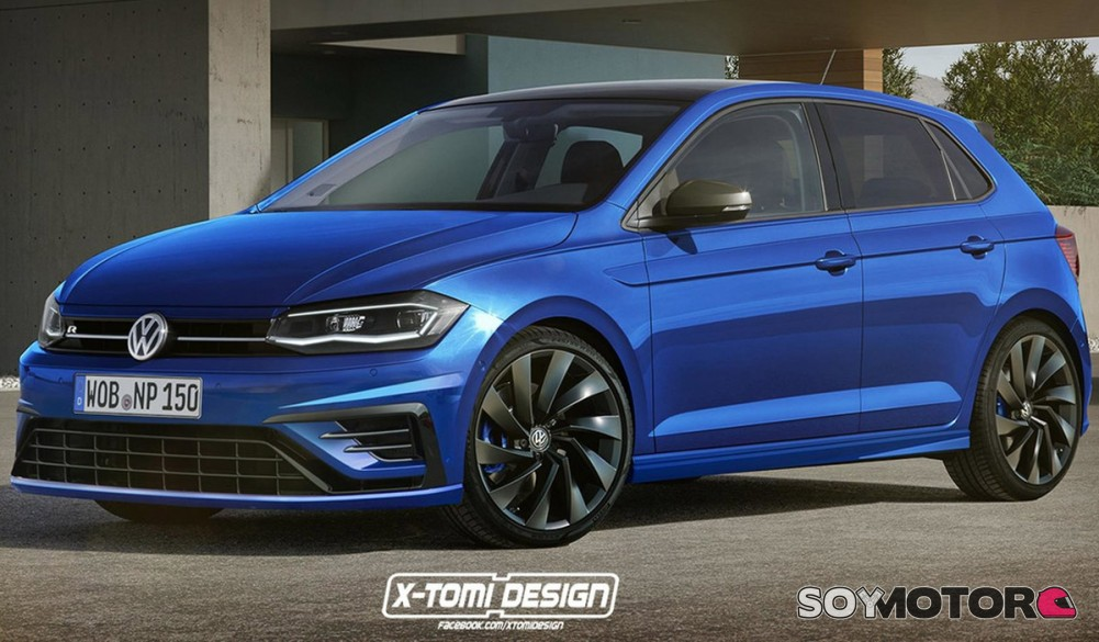 volkswagen polo r 2018 el paso siguiente. Black Bedroom Furniture Sets. Home Design Ideas