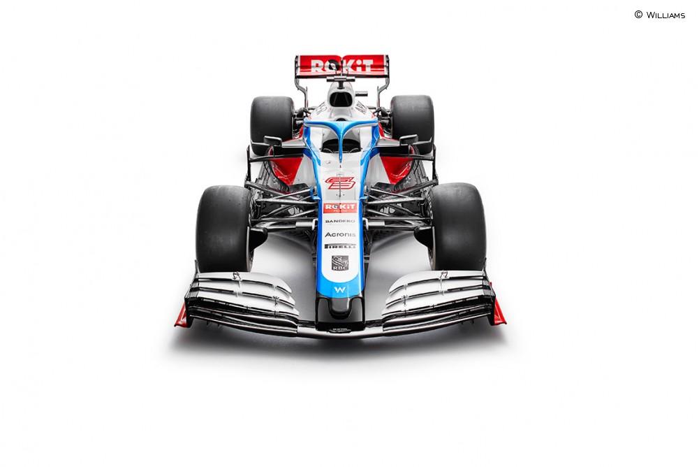 La presentación del Williams 2020