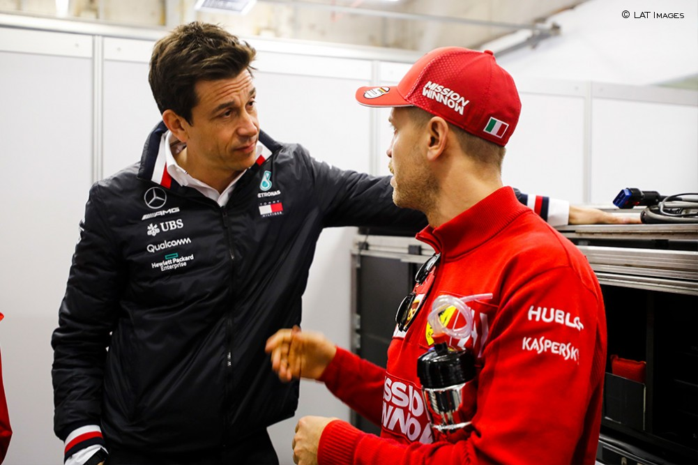 "Wolff: ""No podemos ignorar a Vettel"""