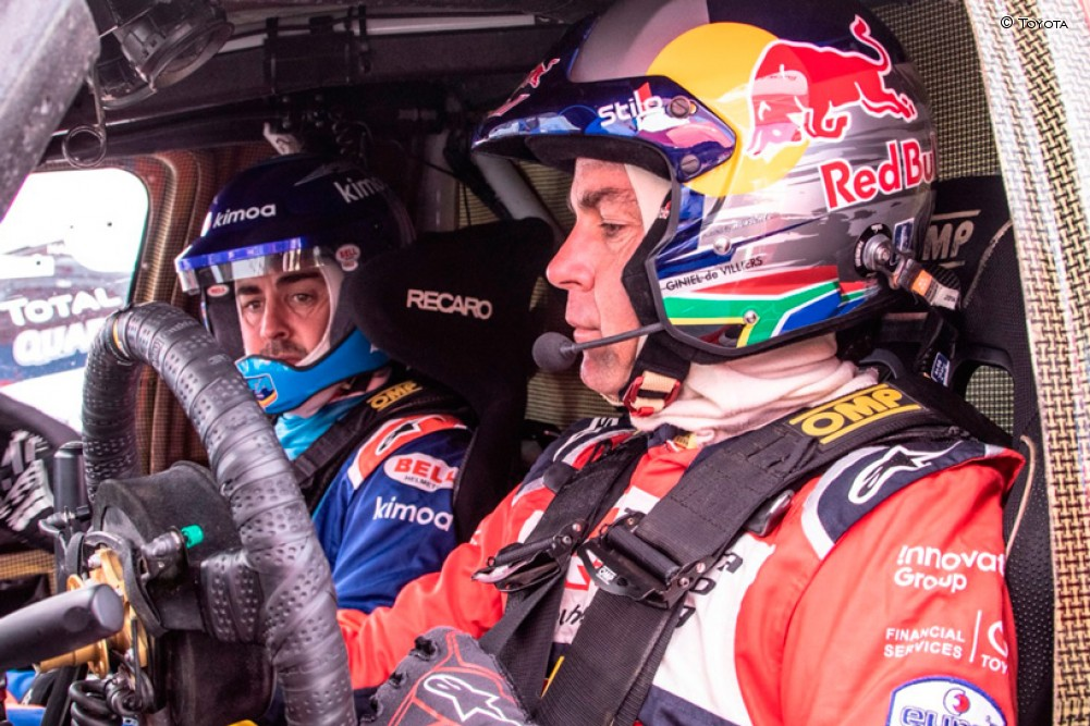 Alonso y De Villiers en Sudáfrica - SoyMotor.com