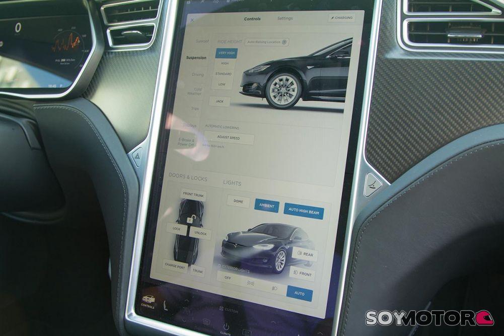 Configuración del Tesla Model S P100D