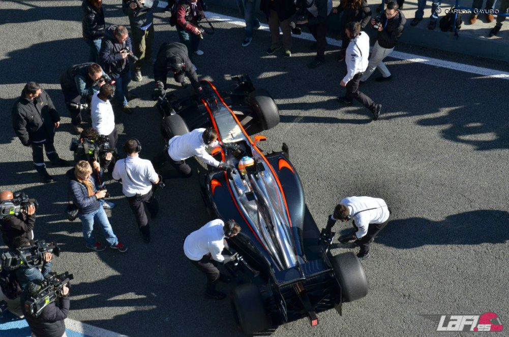 Fotos Test F1 Jerez 2015 - Día 1