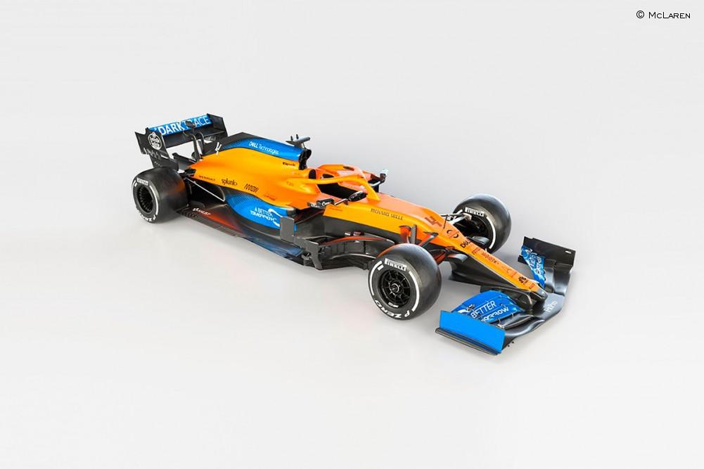 El nuevo McLaren MCL35 de Sainz y Norris - SoyMotor.com