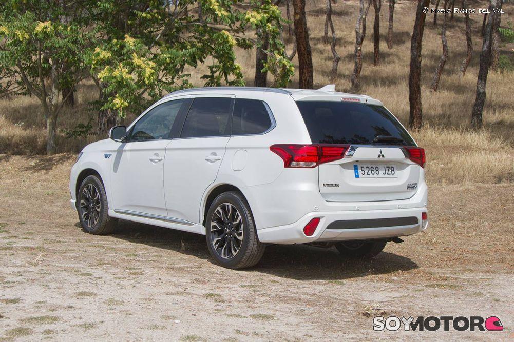 Prueba Mitsubishi Outlander PHEV 2.0 4WD 2017
