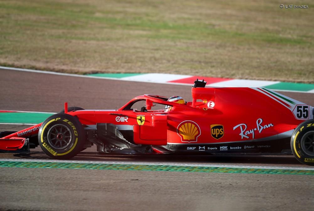 Sainz, con el Ferrari SF71-H en Fiorano - SoyMotor.com