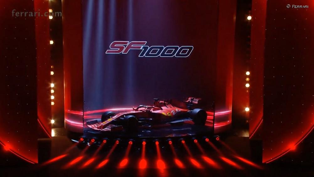 Ferrari presenta su SF1000 para 2020 - SoyMotor.com