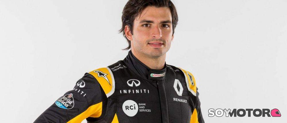 FOTOS: Primeras imágenes de Carlos Sainz como piloto Renault - SoyMotor.com