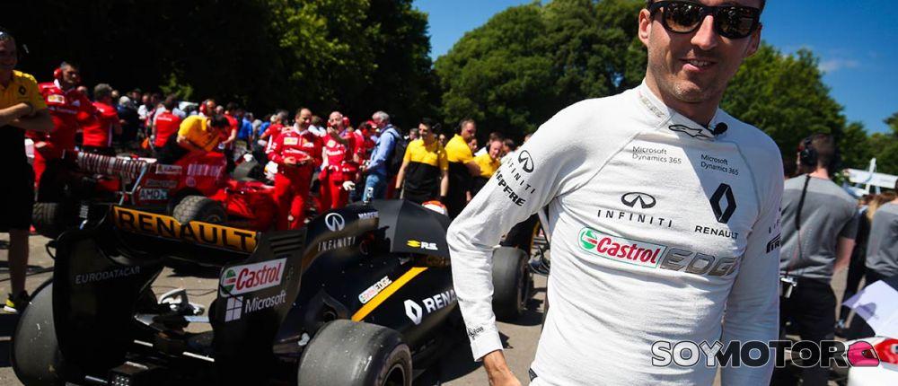 Robert Kubica en Goodwood 2017 - SoyMotor