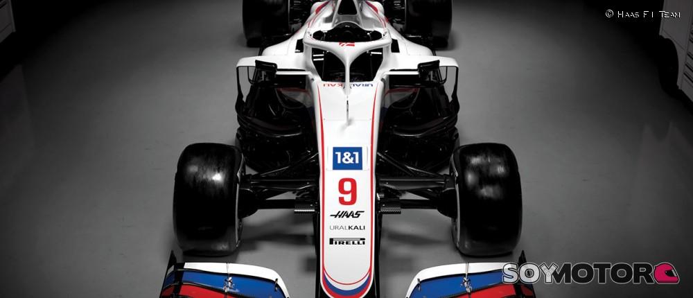 FOTOS: descubre el Haas VF-21 de Schumacher y Mazepin - SoyMotor.com