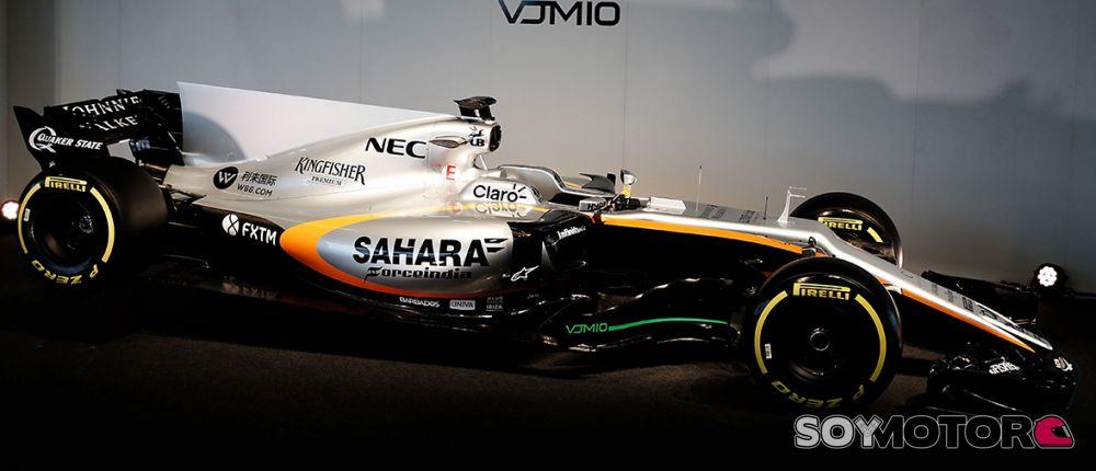 Force India VJM10: las fotografías de la presentación - SoyMotor.com
