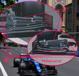 TÉCNICA: las novedades más destacadas del GP de Azerbaiyán F1 2021