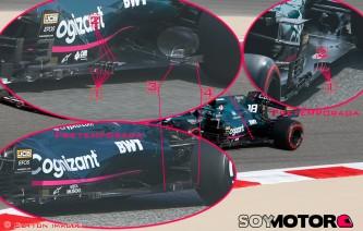 TÉCNICA: las novedades más destacadas del GP de Baréin F1 2021