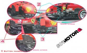 TÉCNICA: las novedades más destacadas del GP de Eifel F1 2020