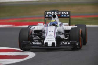 Felipe Massa con el Williams en Silverstone - LaF1