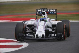 Felipe Massa con el Williams en Silverstone - LaF1