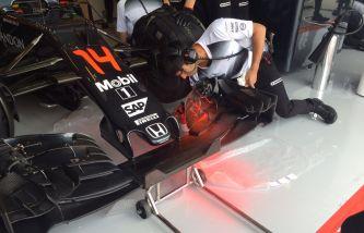 McLaren trae pequeñas novedades en el alerón delantero - LaF1