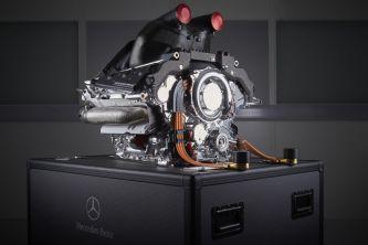La unidad de potencia de Mercedes - LaF1
