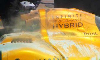 Detalle del Renault de Kevin Magnussen - LaF1