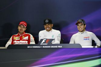 Hamilton vence por delante de Vettel y Pérez - LaF1