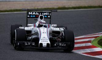 El alerón trasero doble y el morro frontal anclado, las novedades del Williams - LaF1
