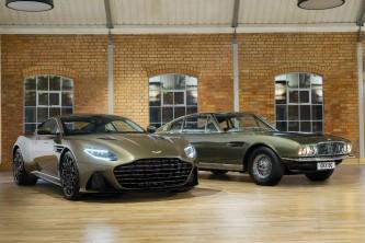 Aston Martin DBS Superleggera 2018: sucesor del Vanquish