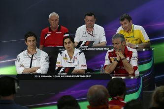 Rueda de prensa de jefes de equipo en Baréin - LaF1