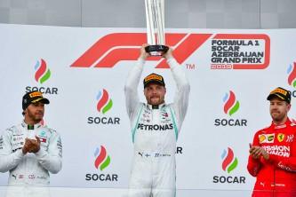 Podio del GP de Azerbaiyán F1 2019 - SoyMotor