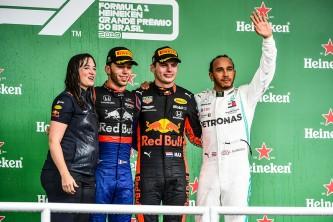 Podio del GP de Brasil F1 2019 - SoyMotor.com