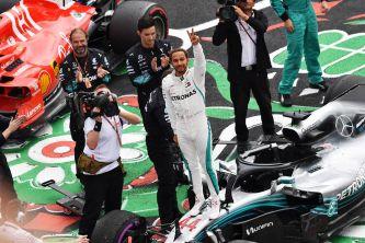 Lewis Hamilton, campeón en México - SoyMotor