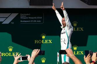 Lewis Hamilton, victorioso en el GP de Hungría - SoyMotor