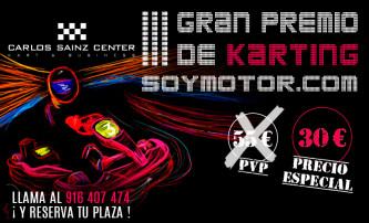 III GP de Karting SoyMotor.com, en el Carlos Sainz Center Madrid
