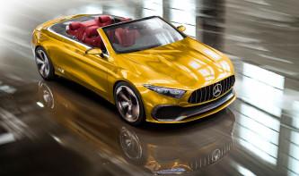 Así sería un Mercedes Clase A Sedán Concept cabrio - SoyMotor.com