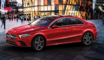 El Mercedes Clase A Sports Sedán L está destinado al mercado chino - SoyMotor