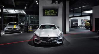 El Mercedes-AMG showroom instalado en Tokyo - SoyMotor